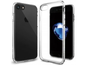 Pouzdro / kryt pro Apple iPhone 7 - Spigen, Ultra Hybrid Crystal Clear