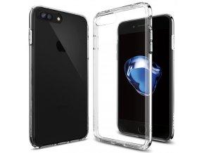 Pouzdro / kryt pro Apple iPhone 7 PLUS - Spigen, Ultra Hybrid Crystal Clear