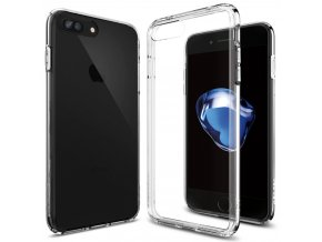 Pouzdro / kryt pro Apple iPhone 7 PLUS / 8 PLUS - Spigen, Ultra Hybrid Crystal Clear