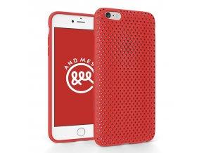 Pouzdro / kryt pro Apple iPhone 6 / 6S - AndMesh, Red - VÝPRODEJ