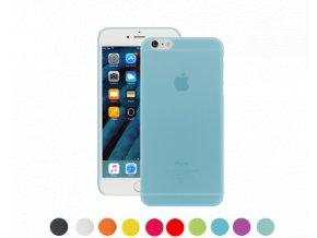 Pouzdro / kryt pro Apple iPhone 6 / 6S - Ozaki, O!Coat 0,3 Jelly Blue - VÝPRODEJ