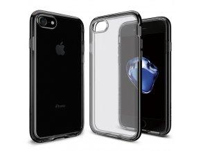 Pouzdro / kryt pro Apple iPhone 7 - Spigen, Neo Hybrid Crystal Jet Black