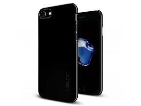 Pouzdro / kryt pro Apple iPhone 7 - Spigen, Thin Fit Jet Black