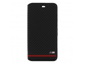 Pouzdro / kryt pro iPhone 7 Plus - BMW, M-Carbon Book Black