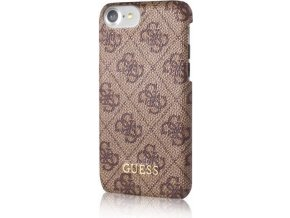 Pouzdro / kryt pro Apple iPhone 7 - Guess, 4G Hard Brown