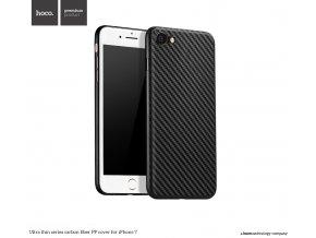 Pouzdro / kryt pro Apple iPhone 7 / 8 - Hoco, Carbon