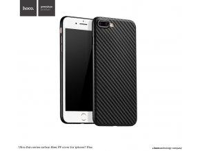 Pouzdro / kryt pro Apple iPhone 7 PLUS / 8 PLUS - Hoco, Carbon