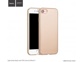 Pouzdro / kryt pro Apple iPhone 7 - Hoco, DreamColor Gold