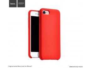 Pouzdro / kryt pro Apple iPhone 7 - Hoco, Silica Red