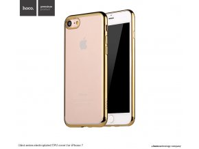 Pouzdro / kryt pro Apple iPhone 7 / 8 - Hoco, Glint Gold