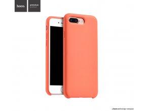 Pouzdro / kryt pro Apple iPhone 7 PLUS - Hoco, Silica Orange