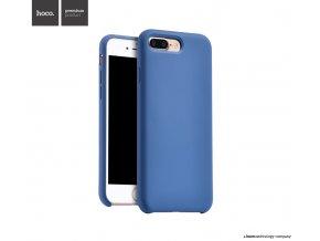 Pouzdro / kryt pro Apple iPhone 7 PLUS / 8 PLUS - Hoco, Silica Blue