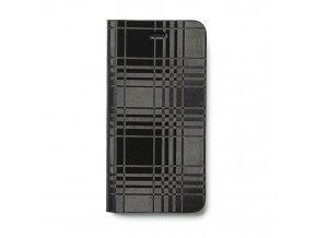 Pouzdro / kryt pro Apple iPhone 6 / 6S - Avoc, Mono Check Diary Black