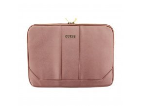 Pouzdro pro MacBook Air 13 - Guess, Saffiano Pink