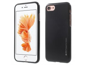 Pouzdro / kryt pro Apple iPhone 7 / 8 - Mercury, i-Jelly Black