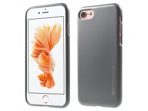 Pouzdro / kryt pro Apple iPhone 7 / 8 - Mercury, i-Jelly Gray