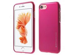 Pouzdro / kryt pro Apple iPhone 7 / 8 - Mercury, i-Jelly Hotpink