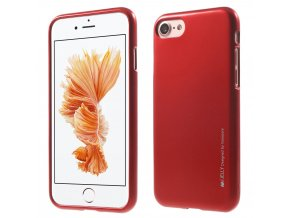 Pouzdro / kryt pro Apple iPhone 7 - Mercury, i-Jelly Red