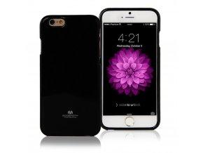 Pouzdro / kryt pro Apple iPhone 6 / 6S - Mercury, Jelly Case Black
