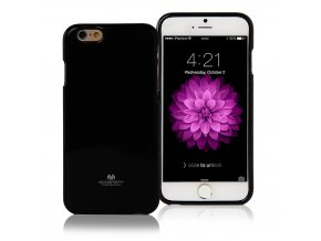 Pouzdro / kryt pro Apple iPhone 6 / 6S - Mercury, Jelly Case Black