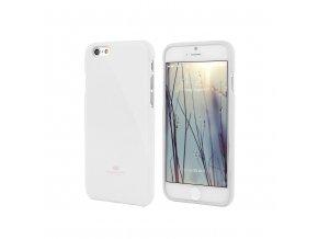 Pouzdro / kryt pro Apple iPhone 6 / 6S - Mercury, Jelly Case White