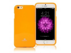 Pouzdro / kryt pro Apple iPhone 6 / 6S - Mercury, Jelly Case Yellow