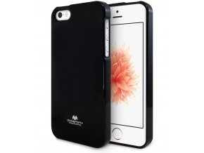Pouzdro / kryt pro Apple iPhone 5 / 5S / SE - Mercury, Jelly Case Black