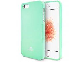 Pouzdro / kryt pro Apple iPhone 5 / 5S / SE - Mercury, Jelly Case Mint