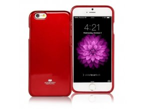 Pouzdro / kryt pro Apple iPhone 7 - Mercury, Jelly Case Red