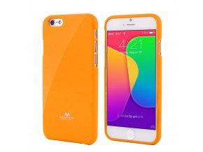 Pouzdro / kryt pro Apple iPhone 7 / 8 - Mercury, Jelly Case Yellow