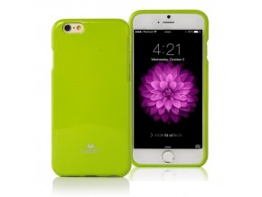 Pouzdro / kryt pro Apple iPhone 7 - Mercury, Jelly Case Lime