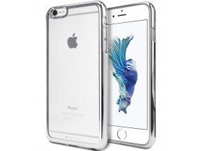 Pouzdro / kryt pro Apple iPhone 6 / 6S - Mercury, Ring2 Silver