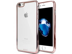 Pouzdro / kryt pro Apple iPhone 7 / 8 - Mercury, Ring2 Rose Gold