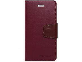 Pouzdro / kryt pro Apple iPhone 5 / 5S / SE - Mercury, Sonata Diary Wine