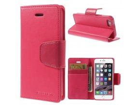 Pouzdro / kryt pro Apple iPhone 5 / 5S / SE - Mercury, Sonata Diary Hotpink