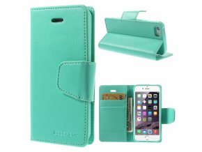 Pouzdro / kryt pro Apple iPhone 5 / 5S / SE - Mercury, Sonata Diary Mint