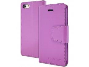 Pouzdro / kryt pro Apple iPhone 5 / 5S / SE - Mercury, Sonata Diary Purple