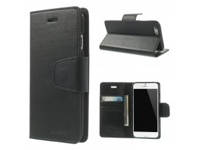 Pouzdro / kryt pro Apple iPhone 6 / 6S - Mercury, Sonata Diary Black