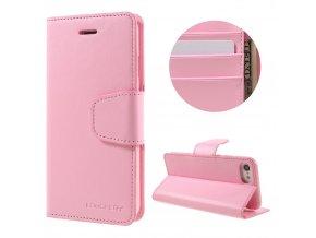 Pouzdro / kryt pro iPhone 7 / 8 - Mercury, Sonata Diary Pink