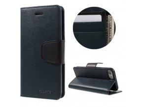 Pouzdro / kryt pro iPhone 7 - Mercury, Sonata Diary Navy