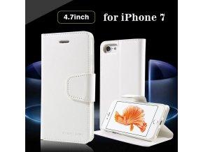 Pouzdro / kryt pro iPhone 7 - Mercury, Sonata Diary White