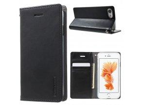 Pouzdro / kryt pro iPhone 7 / 8 - Mercury, Bluemoon Flip Black