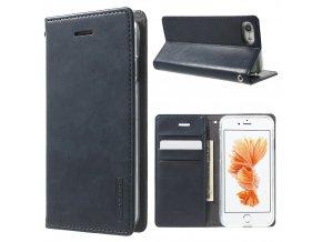 Pouzdro / kryt pro iPhone 7 / 8 - Mercury, Bluemoon Flip Navy