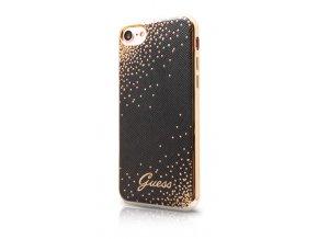 Pouzdro / kryt pro Apple iPhone 7 - Guess, Dots TPU Black