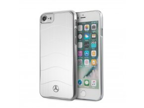Pouzdro / kryt pro Apple iPhone 7 / 8 - Mercedes-Benz, Wave Alu Silver