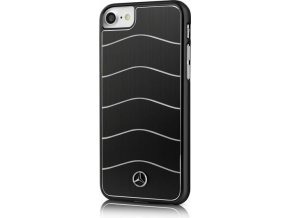 Pouzdro / kryt pro Apple iPhone 7 / 8 - Mercedes-Benz, Wave Alu Black