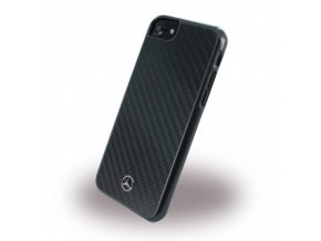 Pouzdro / kryt pro Apple iPhone 7 / 8 - Mercedes-Benz, Real Carbon Black