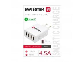 Nabíjecí AC adaptér pro iPhone a iPad - SWISSTEN, 4.5A