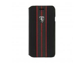 Pouzdro / kryt pro iPhone 7 - Ferrari, Urban Book Black