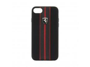 Pouzdro / kryt pro iPhone 7 / 8 - Ferrari, Urban Back Black